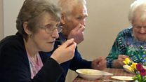 Tesco waste turns into three-course meal