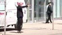 Moment Toronto attack suspect arrested