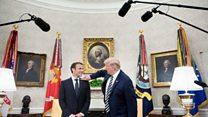 آیا رئیسجمهوری فرانسه توانست ضمانت حفظ برجام را ترامپ بگیرد؟