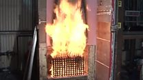 Building fire safety tests 'flawed'
