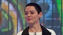 Rose McGowan: 'Weinstein tried to text me'