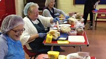 The butty factory feeding the homeless