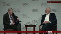 واکنشها به دفاع ظریف از حقوق بشر در ایران
