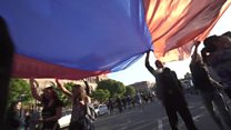 Armenia protesters return to the streets