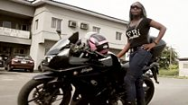 Female bikers revving up for healthcare