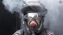 Шлем с дополненной реальностью для пожарных