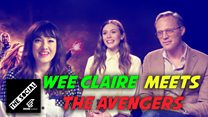 Wee Claire Chats To THE AVENGERS