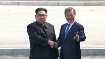 Saat Kim Jong-un 'menyeberang' ke Korea Selatan