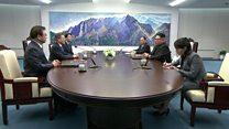 တောင်နဲ့မြောက်ကိုရီးယား ခေါင်းဆောင်နှစ်ဦးရဲ့ သမိုင်းဝင်တွေ့ဆုံမှု