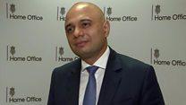 Sajid Javid appointed home secretary