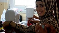 Sewing for hope in Iraq