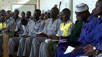 ကင်ညာအကျဉ်းထောင်တွင်းက စိတ်တည်ငြိမ်ရေး လေ့ကျင့်မှု