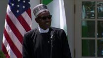 Nigerian president responds to Trump slur