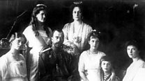 The murder of the Russian Tsar and family
