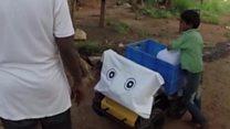 घर-घर जाकर पानी पहुंचाता है ये रोबोट