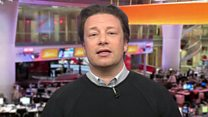 """Jamie Oliver: """"I don't ban junk food at home"""""""