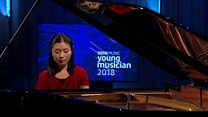 Lauren Zhang's performance in the BBC Young Musician 2018 Keyboard Final