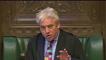MPs raise bullying claims with Bercow