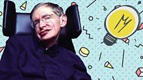 Prof Hawking's cosmic conundrum