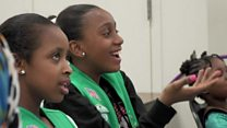 What makes this Girl Scout group special?