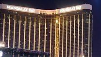 Moment police stormed Las Vegas gunman's room