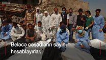 Mosulun cəsəd toplayanları