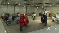 موتورسیکلت وسپا ایتالیایی 50 ساله شد