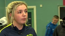 Post-Troubles teens want peace walls down