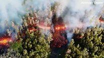 Гавайи в огне: новое извержение вулкана Килауэа