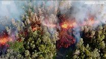 Vulcão entra em erupção no Havaí e força moradores a abandonar casas