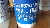 A coffee cup that 'actually gets recycled'