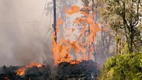 Quake follows Hawaii volcano eruptions