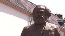 Marx statue unveiled in German birthplace