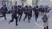 """""""Он нам не царь"""": как в России прошли протестные акции против инаугурации Путина"""