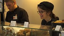 The café staffed by disabled people