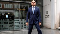 Did Javid really do the 'power pose'?