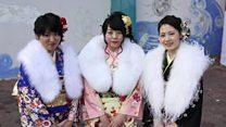 تلاش برای احیای پوشیدن کیمونو در ژاپن