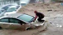 فيضانات في العاصمة التركية أنقرة
