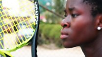 The 13-year-old 'Nigerian Serena'