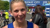 Kilkeel's Laura Graham, last year's winner, came second