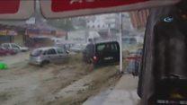 Повінь в Анкарі - 6 людей постраждали