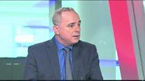 """وزير إسرائيلي يهدد بـ """"إنهاء الأسد ونظامه"""""""