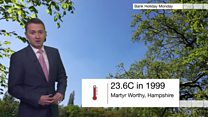 How the Early May Bank Holiday temperature record was smashed