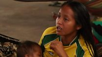 Venezuela indigenous group flees crisis