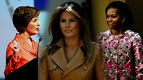 How Melania compares to other first ladies