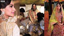 سونم کی شادی میں جگمگاتے ستارے