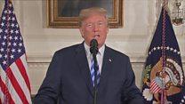 سخنرانی ترامپ؛ از برجام خارج میشویم