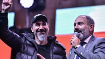 Rock star Serj Tankian hails Armenia change