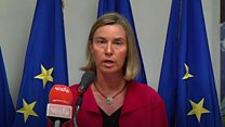 موغريني: لا تسمحوا لأي شخص بتفكيك الاتفاق النووي