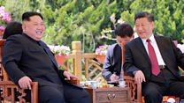 चीन की 'ट्रंप-किम' मुलाक़ात पर पैनी नज़र